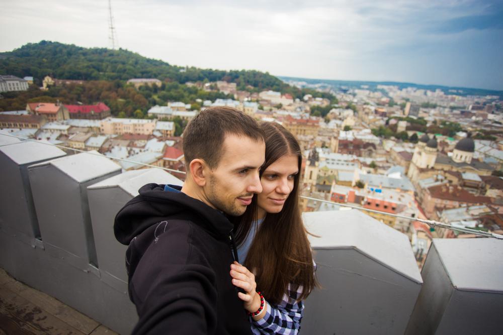 З 65-метрової висоти весь Львів як на долоні!