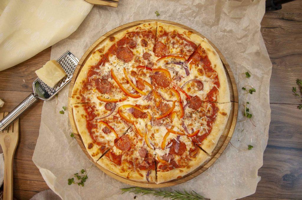 Онлайн ресторан «Osava», піцца