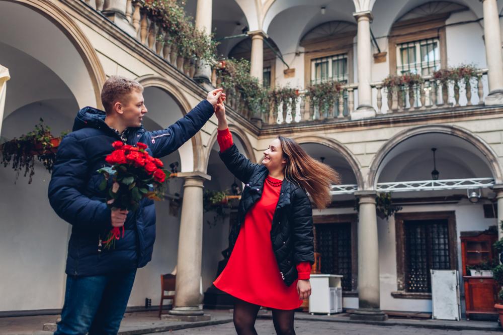 Італійський дворик – кращого місця для лав сторі не вигадаєш!