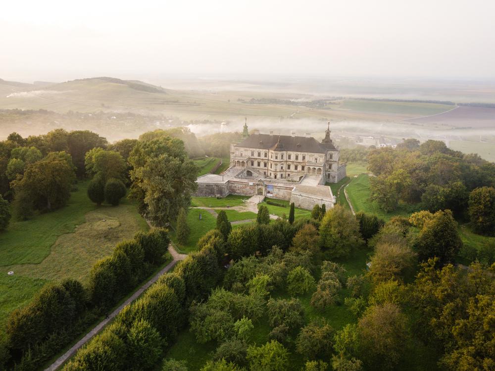 Підгорецький замок – одна з найкрасивіших історичних споруд України