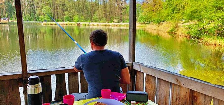 Риболовля в зоні відпочинку «Привал»