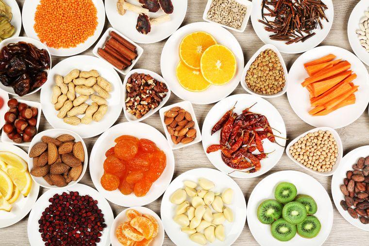 Ваш рацион должен состоять из продуктов разных пищевых групп