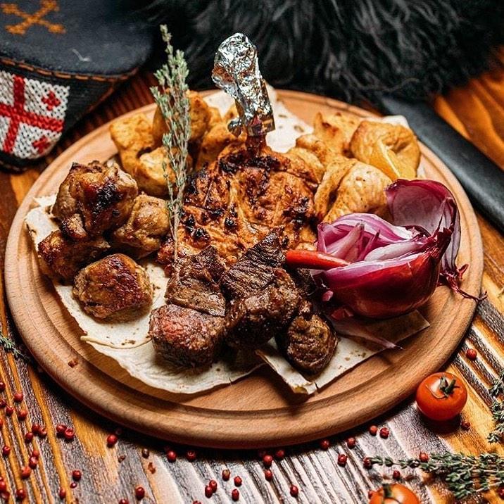 Ресторан «Кавказ», меню