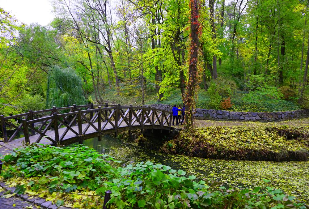 Парк «Софіївка» в травні